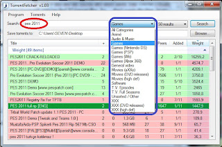 Find The Torrent Files Quickly with Torrent Fetcher 1.03