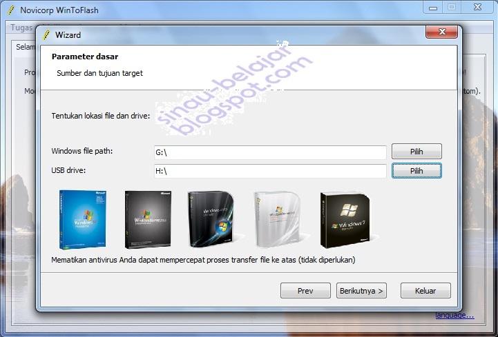 how to install windows xp sp3 via usb drive
