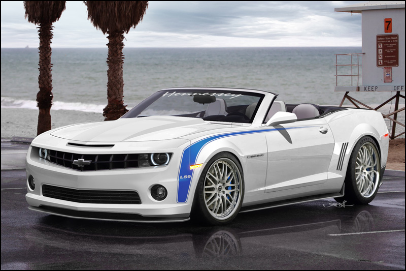 2010 2011 5th Generation Chevrolet Camaro: Hennessey goes topless in the LS9