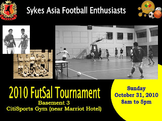 Cebu Football Tournament: 2010 Sykes FutSal Tournament