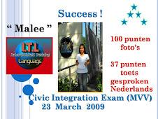 "Congratulation to ""Malee"""