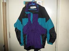COLUMBIA Jacket Mens Hiking Outdoors RAIN Radial Sleeve