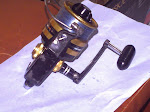 IN STOCK Penn 650SS Skirted Spools Black & Gold  (2nd Great Condition) lihat senarai