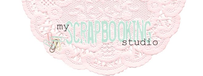 my scrapbooking studio