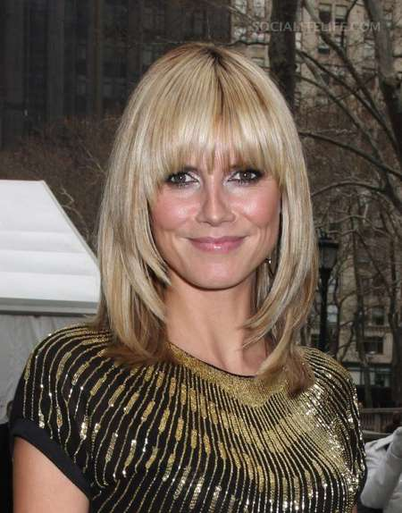 heidi klum hairstyles. Their natural hairstyle