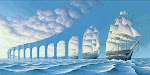 O que você vê: Nuvens ou Barcos?