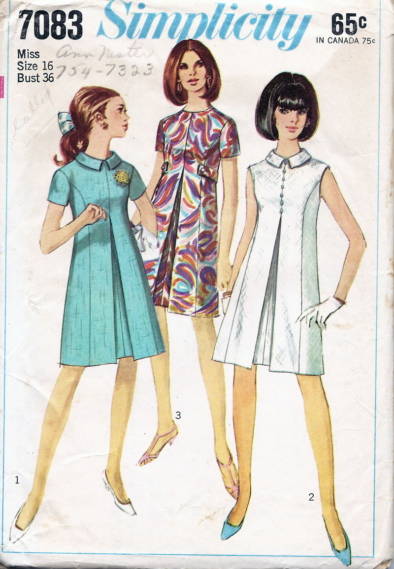 1960s Dress Patterns Simple Inspiration Ideas