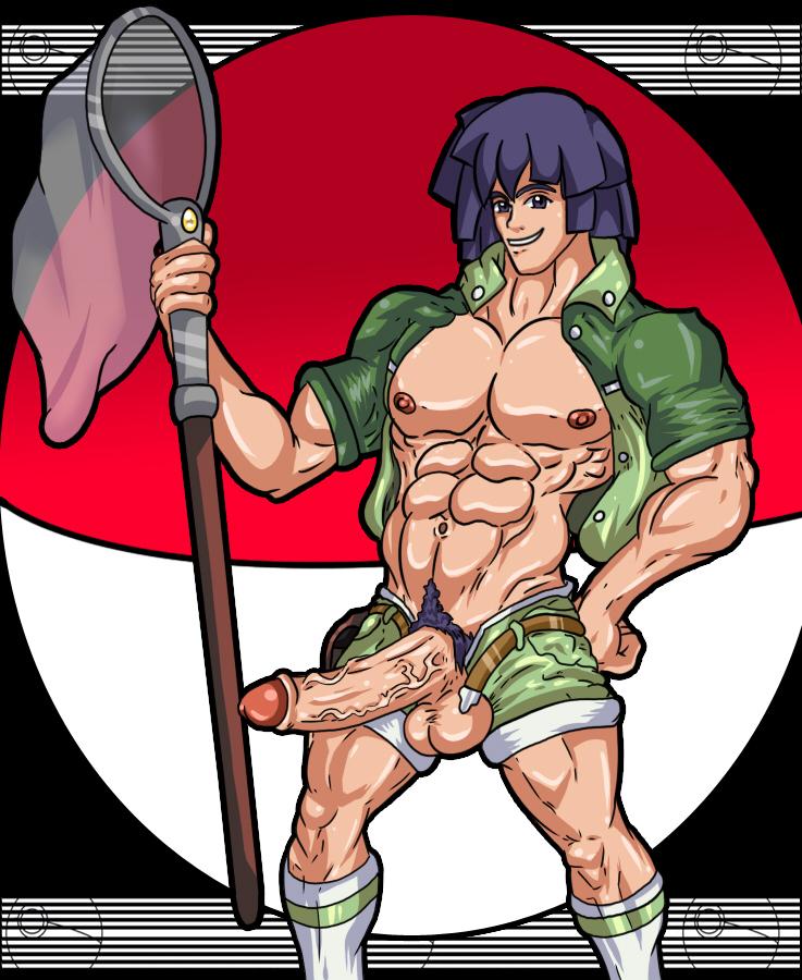 male naked pokemon trainer