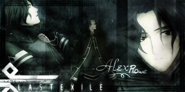 Personaje: Alex. Serie: Last Exile