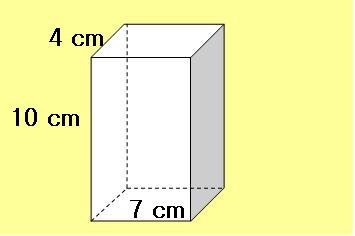 formula for surface area of a rectangular  prism