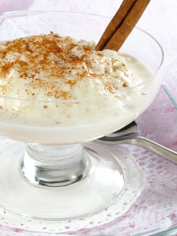 Lemon Drop: Creamy Rice Pudding with Raisins