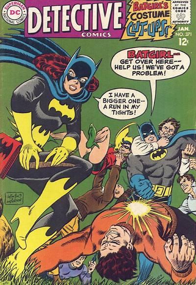 Favorite comic book version of Batgirl? Detective_000371
