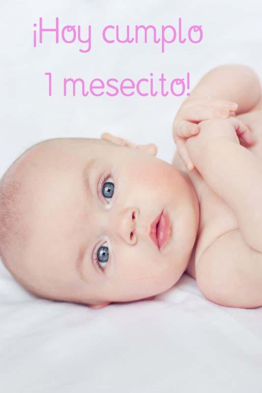 El trolley de nieves mi blog cumple 1 mes - Cuanto come un bebe de 1 mes ...