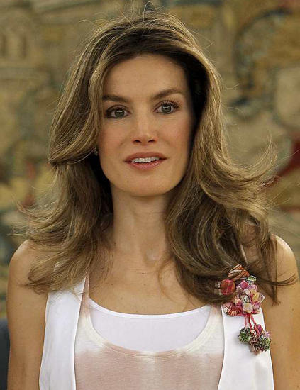princess letizia of spain bio. Princess Letizia has spent her
