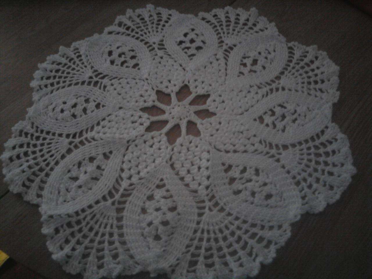 Creaciones en crochet centros de mesa for Centro de mesa a crochet