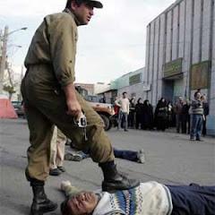 توقیف اموال دستفروشان سنندج توسط نیروهای انتظامی