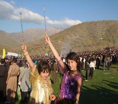 نوروز در مریوان / کردستان