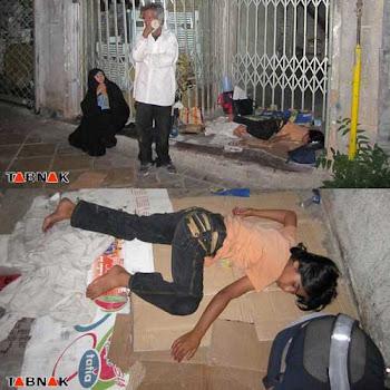 بی خانمان های ایران و کمک های میلیون دلاری به لبنان و فلسطین برای خرید اسلحه وسفرهای پرخرج ومیلیون