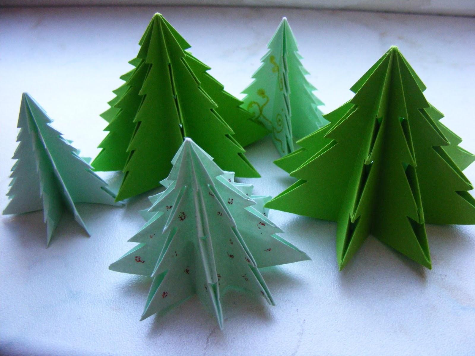 Сделать елочку оригами своими руками