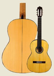 Guitarra Alcazaba Blanca Tomatito
