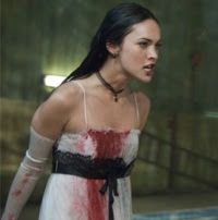 Jennifer's Body - look at Megan Fox's delicious mouth: I want to kiss her!