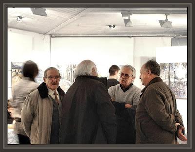 COMARRUHA-EL VENDRELL-TARRAGONA-INAUGURACION EXPOSICION-PINTURAS-ERNEST DESCALS-PREMIO PINTURA