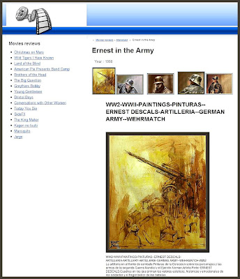ERNEST IN ARMY-MOVIES-ERNEST DESCALS-SOLDADOS ALEMANES-GERMAN SOLDIERS-PAINTINGS