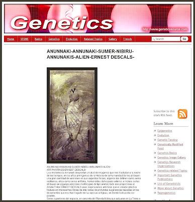 GENETICA-GENETICS-ANUNNAKI-ANNUNAKI-ANNUNAKIS-ERNEST DESCALS