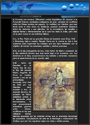 ANUNNAKI-ANNUNAKIS-DISCO ALADO-DIOSES MESOPOTAMIA-ERNEST DESCALS-PINTURA