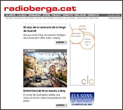 RADIO-BERGA-PAISAJES-PINTURA-ERNEST DESCALS