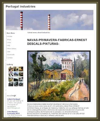 PORTUGAL-INDUSTRIES-NAVAS-FABRICAS-PINTURAS-ERNEST DESCALS
