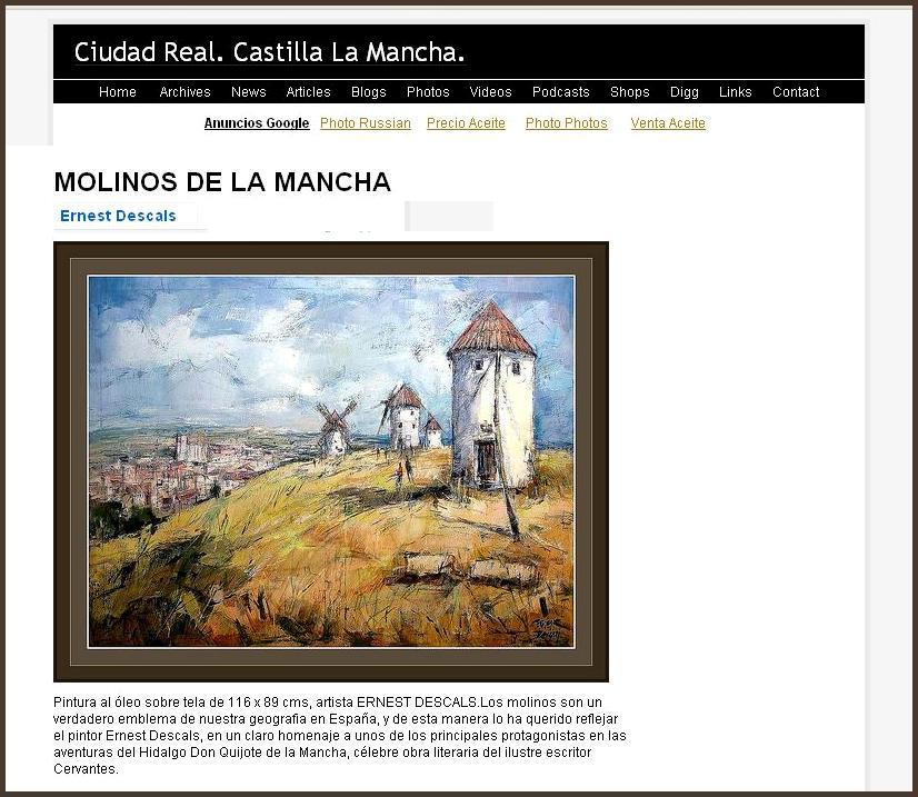MOLINOS-CIUDAD REAL-CASTILLA-LA MANCHA-ERNEST DESCALS