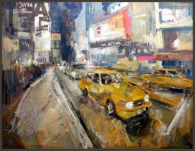 NEW YORK-NUEVA YORK-NY-ERNEST DESCALS-PINTURAS