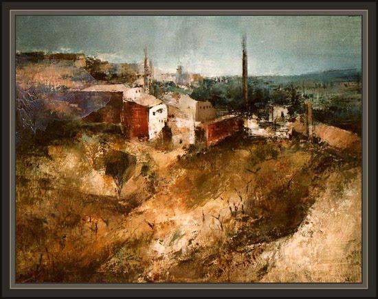 Ernest descals la historia del pintor la senia montsia for Fabricas de muebles en la senia