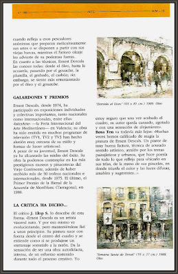 MINUTOS MENARINI-LICEO-BARCELONA-TERUEL-ERNEST DESCALS-PINTURA
