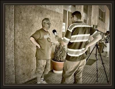 vilafranca del penedes-ernest descals-entrevista-television-primeros premios-pintura