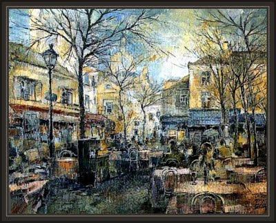 PARIS-MONTMARTRE-ERNEST DESCALS-GALERIA ART PETRITXOL-BARCELONA