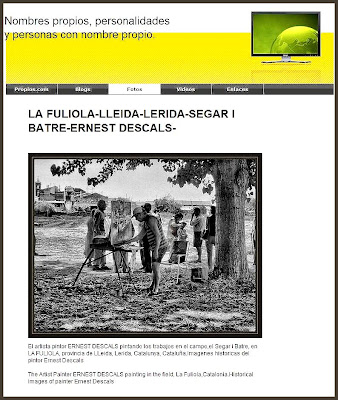 LA FULIOLA-ERNEST DESCALS-PINTURAS-PINTOR-NOMBRES PROPIOS