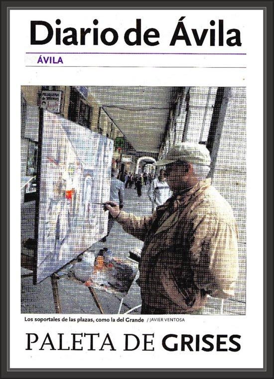 DIARIO DE AVILA-PINTURA-AVILA-EL GRANDE-PINTOR-ERNEST DESCALS