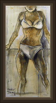 MODELO-MODELOS-MODELS-ART-ARTE-PINTURAS-PAINTINGS-WOMEN-MUJERES-ERNEST DESCALS