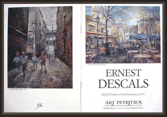 ARCELONA-ART-PETRITXOL-EXPOSICIONES-PINTURA-PINTOR-ERNEST DESCALS