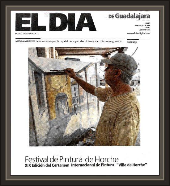 GUADALAJARA-DIARIOS-DIARIO-EL DIA-PINTURA-ARTE-HORCHE-PINTOR-ERNEST DESCALS