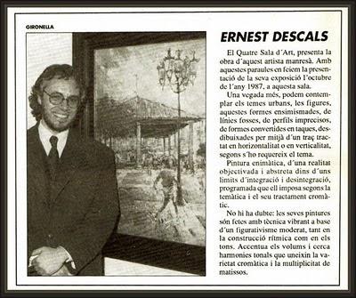 GRANOLLERS-SALA-ART-ARTE-EL QUATRE-PINTURA-EXPOSICIONS-ERNEST DESCALS