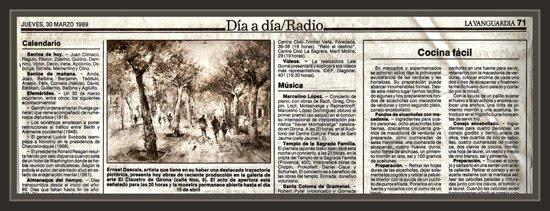LA VANGUARDIA-INFORMACION-EXPOSICIONES-GIRONA-EL CLAUSTRE-PINTURA-ERNEST DESCALS