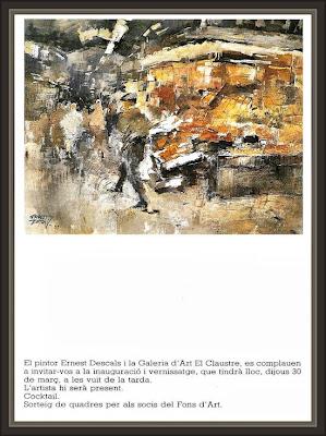 EL CLAUSTRE-_GIRONA-GALERIA-ART-ARTE-EXPOSICIONS-PINTURA-BOQUERIA-BARCELONA-ERNEST DESCALS