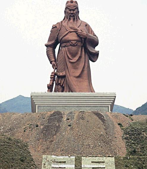 zhao yun statue