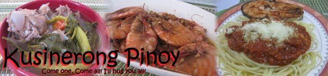 Kusinerong Pinoy
