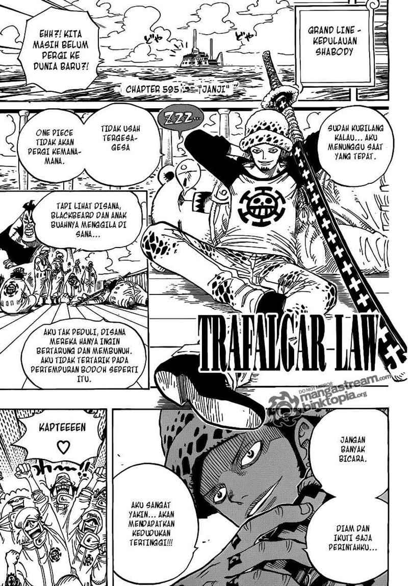 OP 01 One Piece 595   Sanji