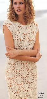 Вязание ажурного платья для девочки спицами 76