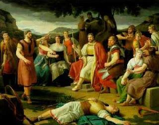 Nordische Mythologie Balders, Baldrs tot